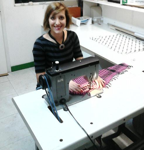 Irene Iturralde estudia segundo curso de Diseño de Moda