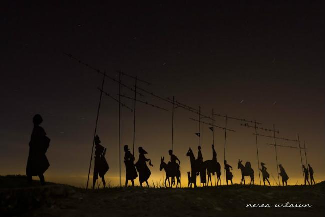 Los Caminantes Eternos, fotografía de Nerea Urtasun