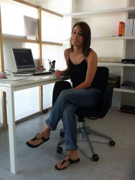 Beatriz imizcoz hace pr cticas en taller vertical for Carrera de interiorismo