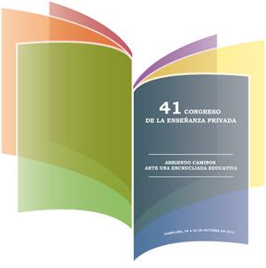 Irene González - Logo del 41º Congreso de la Enseñanza Privada