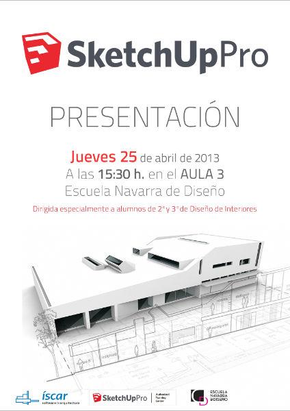 Presentaci n de sketchup pro para dise o de interiores for Estudiar diseno de interiores online gratis