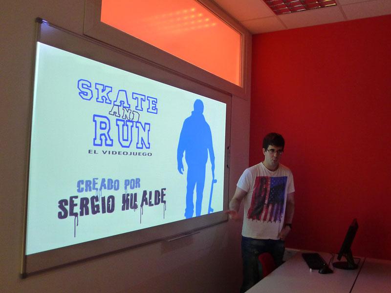 Sergio Hualde ha resultado ganador de una Beca Crea con su juego Skate and Run