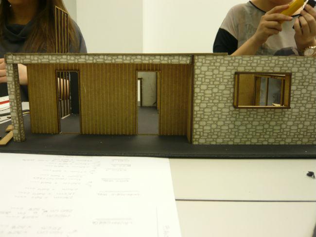 Práctica de los alumnos de Diseño de Interiores de Creanavarra
