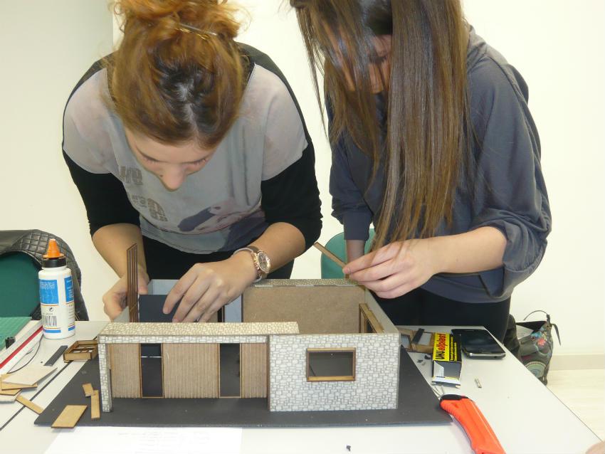 Proyecto realizado por los estudiantes de segundo de Proyectos de diseno de interiores