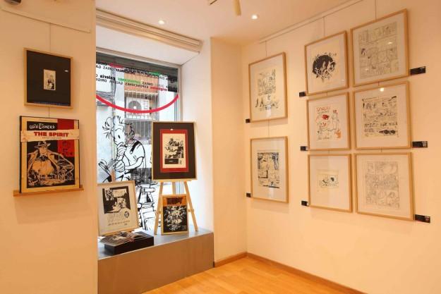El arte del c mic la primera galer a del c mic en espa a for Estudiar diseno de interiores online gratis