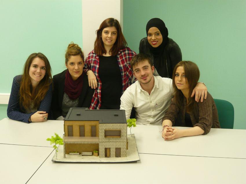 Proyecto final de los alumnos de dise o de interiores for Estudiar diseno de interiores online gratis