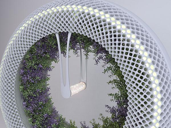 Diseño ecosostenible para llevar la huerta a los hogares