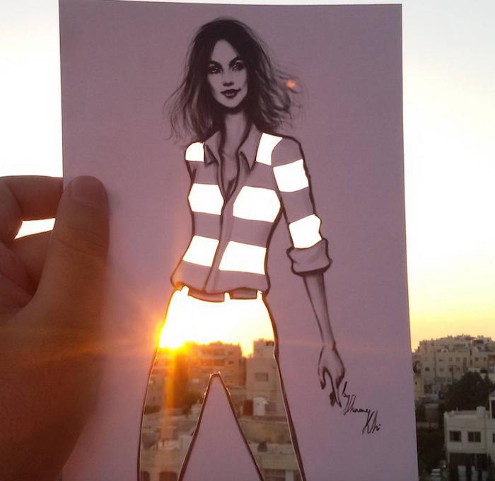 Las composiciones de Shamekh Bluwi son famosas en Instagram