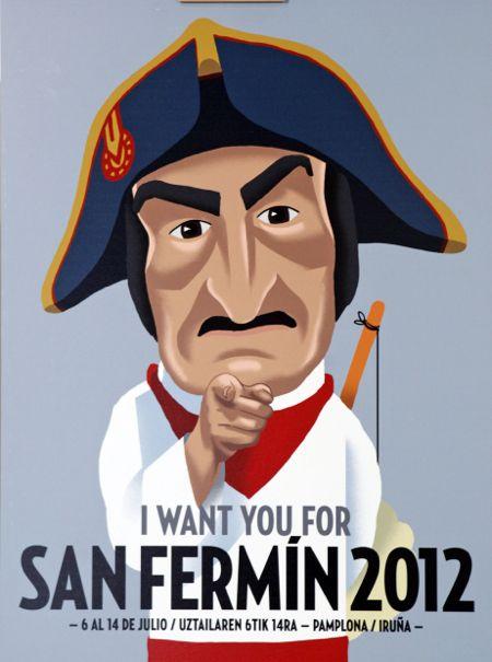Diseño del cartel de 2012