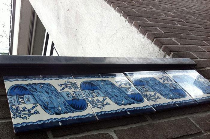 Mural en azulejo de Add Fuel en París: Fuente: Web oficial de Diogo Machado