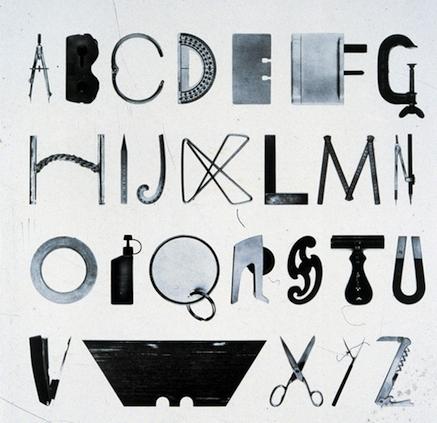 Alfabeto de herramientas