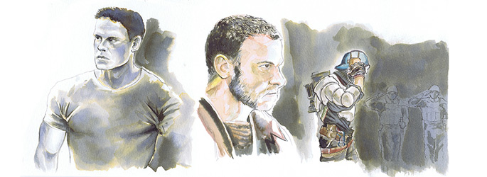 Personajes de Alfonso Berroya