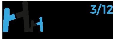 Logo Hiru Hamabi por Pablo Pagola, profe de Creanavarra