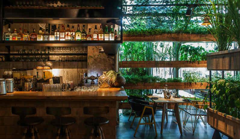 Dise o de interiores un restaurante con maneras de Disenos de interiores para restaurantes