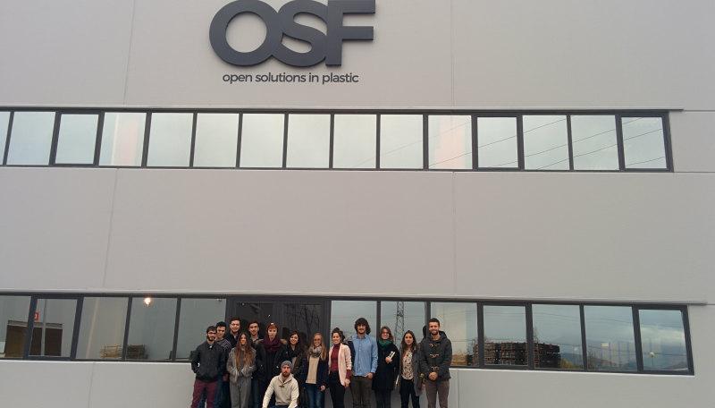 Los alumnos de Diseño de Producto en OSF Plastic