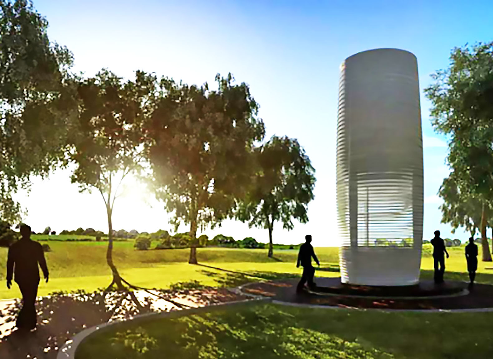 smog free tower rotterdam studio roosegaarde