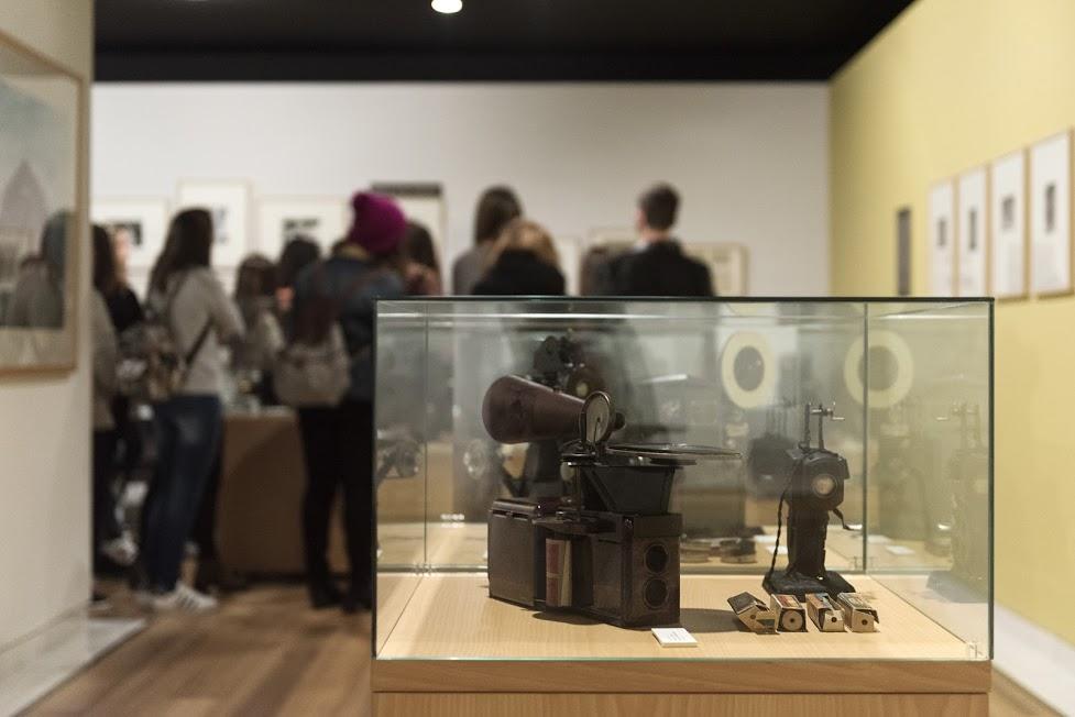 Visita al museo de la fotografía de Zarautz. Alumnos de Creanavarra.