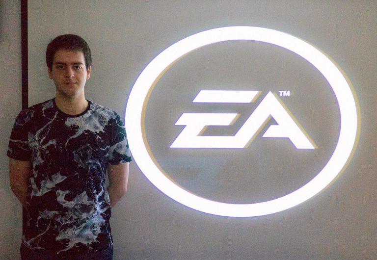 Ibon Gómez exalumno de Creanavarra, trabajador de EA