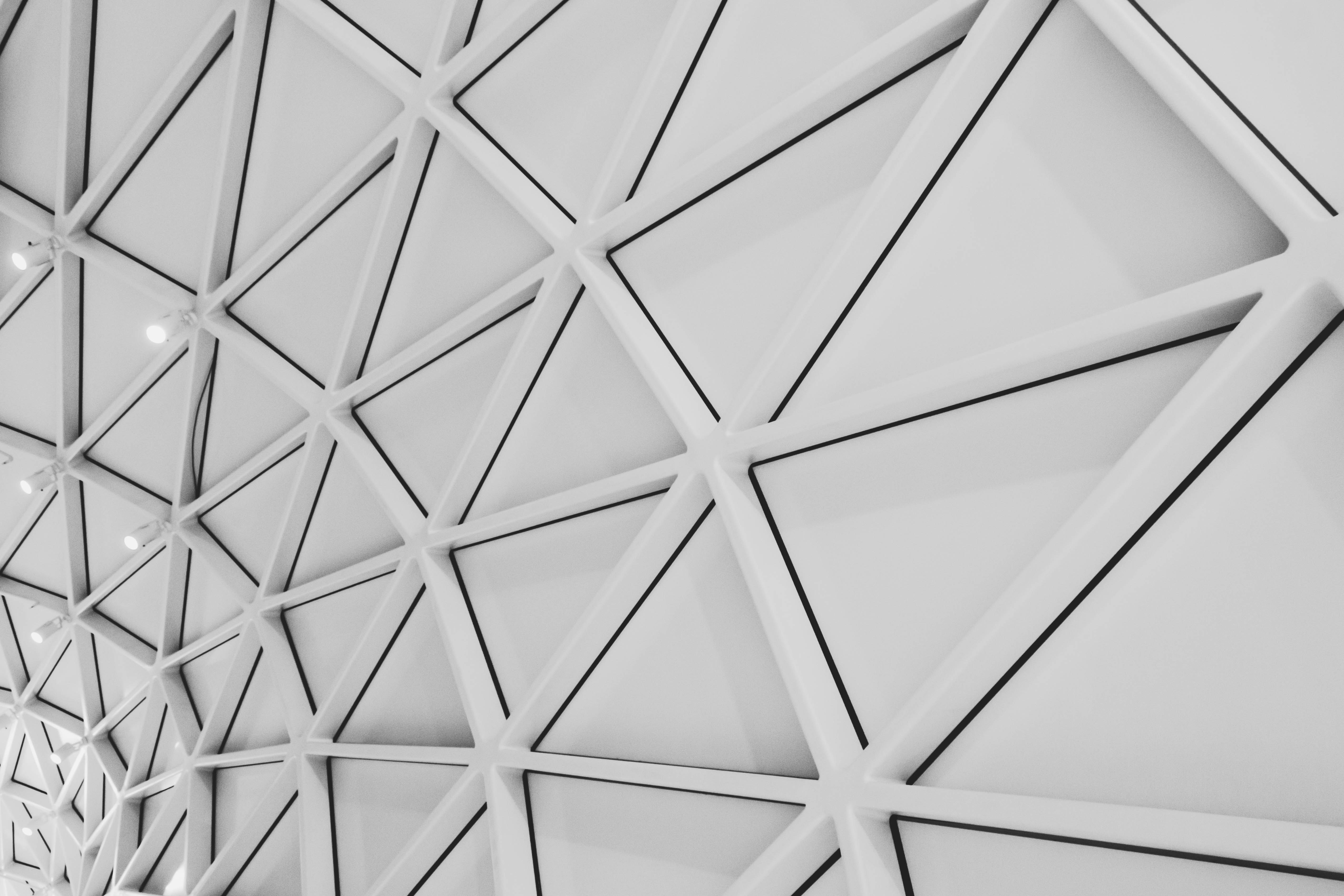 architectural design black and white ceiling 774548
