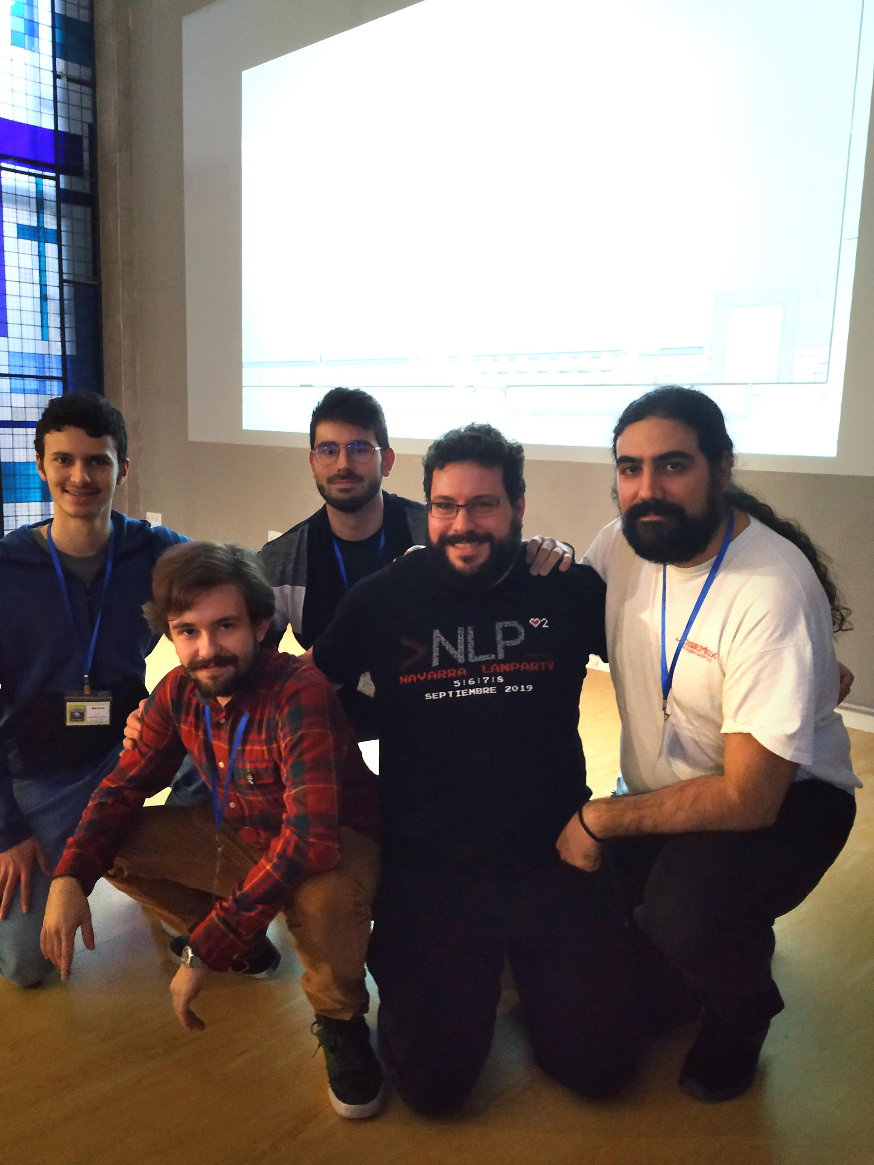 la global game jam reúne a más de 50 participantes en creanavarra