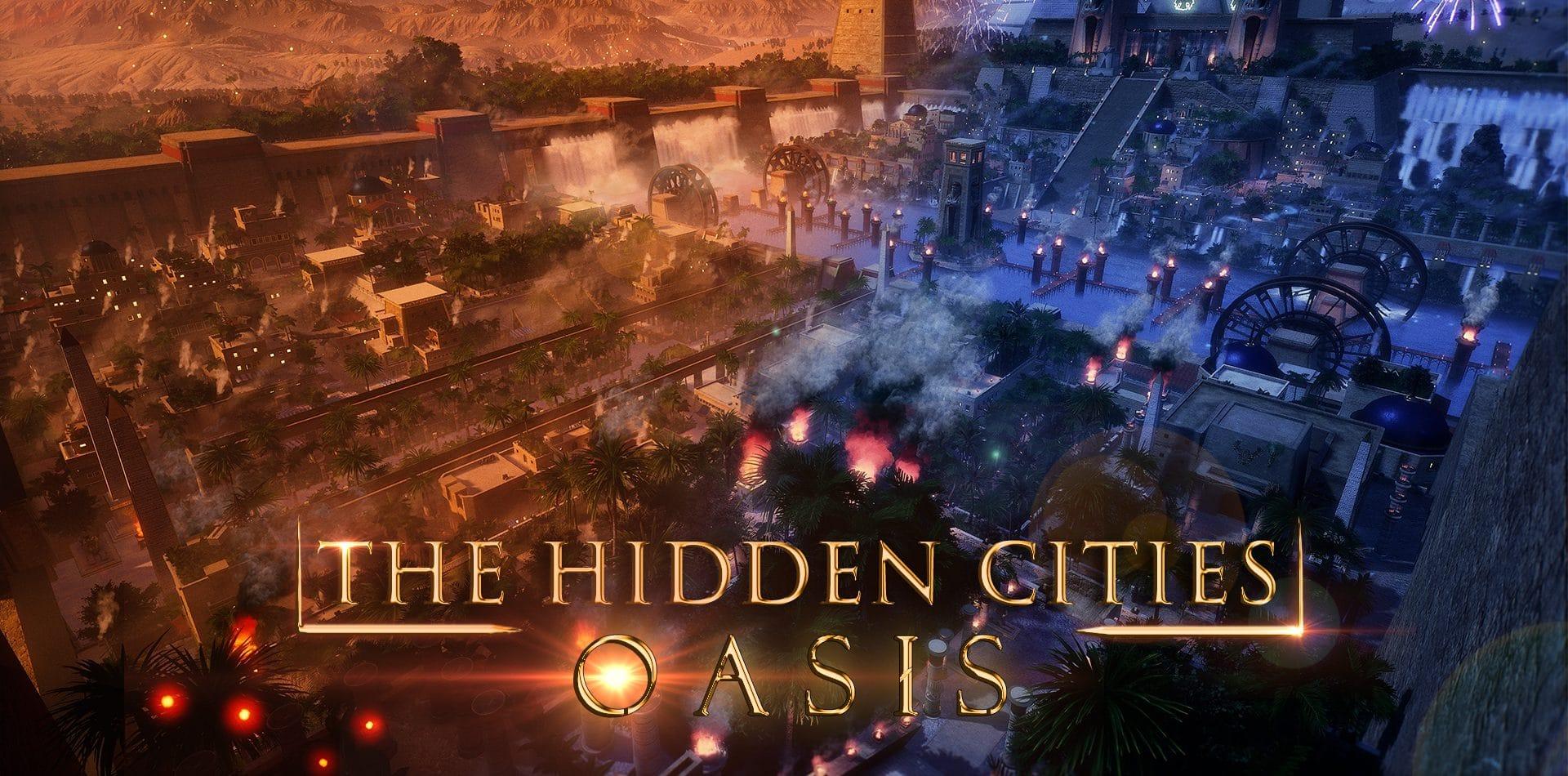 'the hidden cities oasis' trabajo del alumno de videojuegos juan ocamica