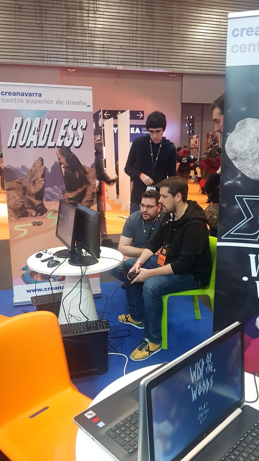 el videojuego 'roadless' desarrollado por estudiantes de creanavarra finalista en playstation talents
