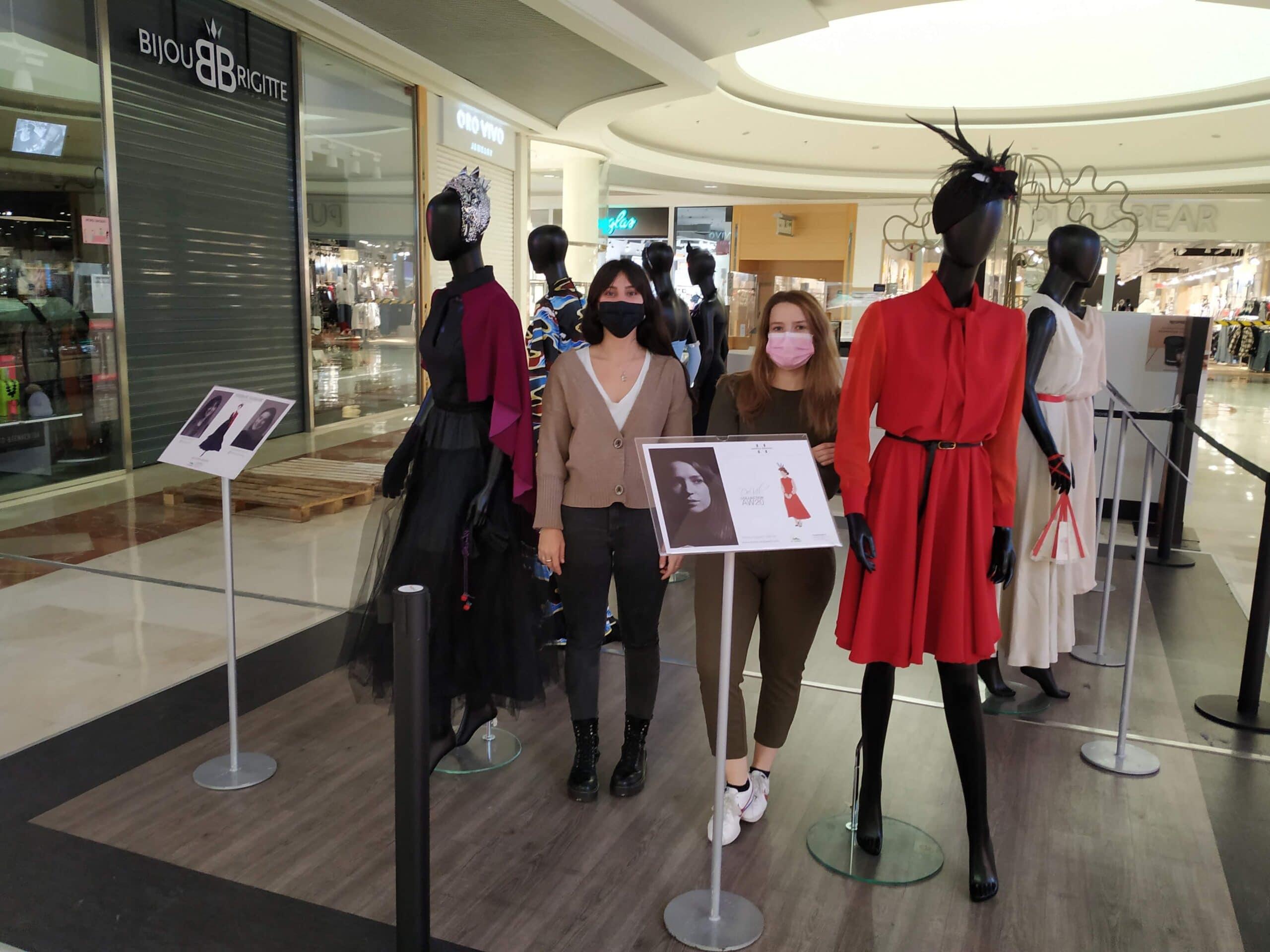el alumnado de moda de creanavarra expone en la morea una reinterpretación de princesas y villanas de película