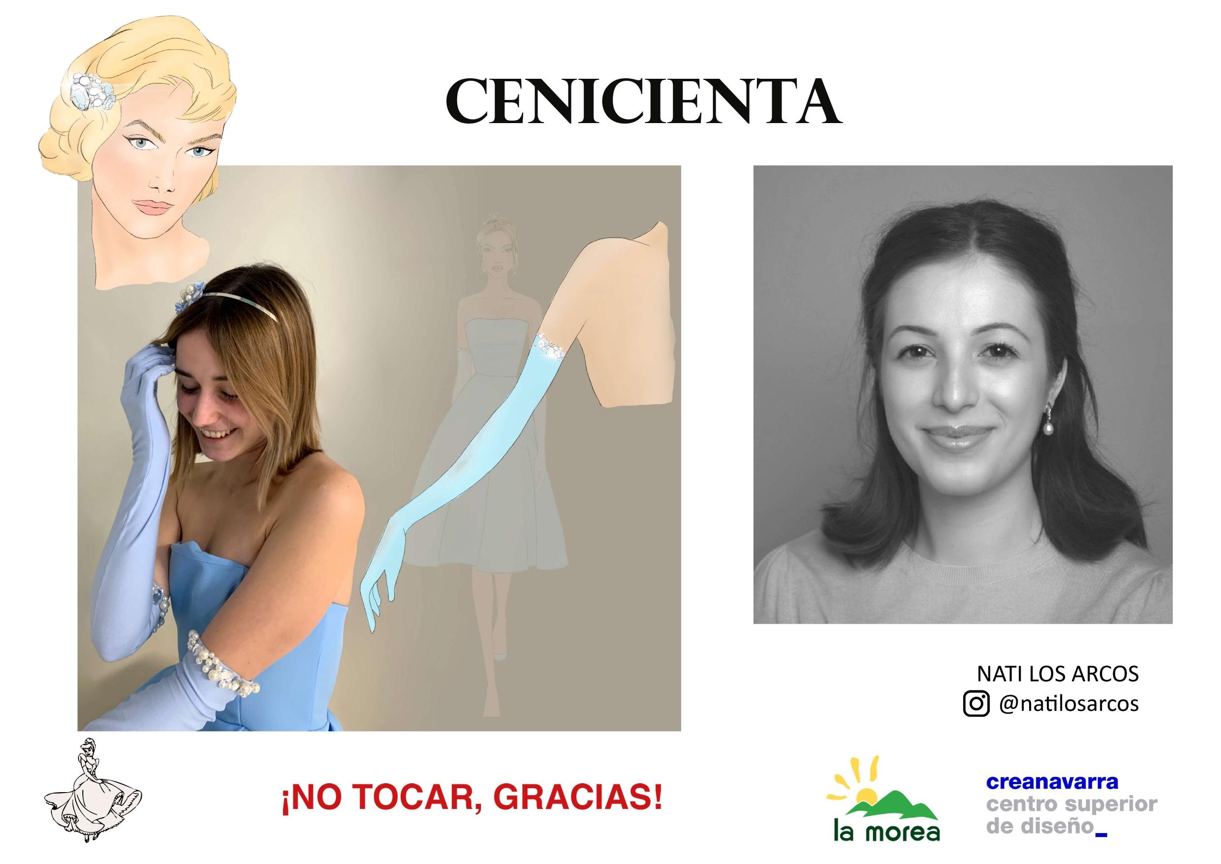 Look Cenicienta de Nati Los Arcos