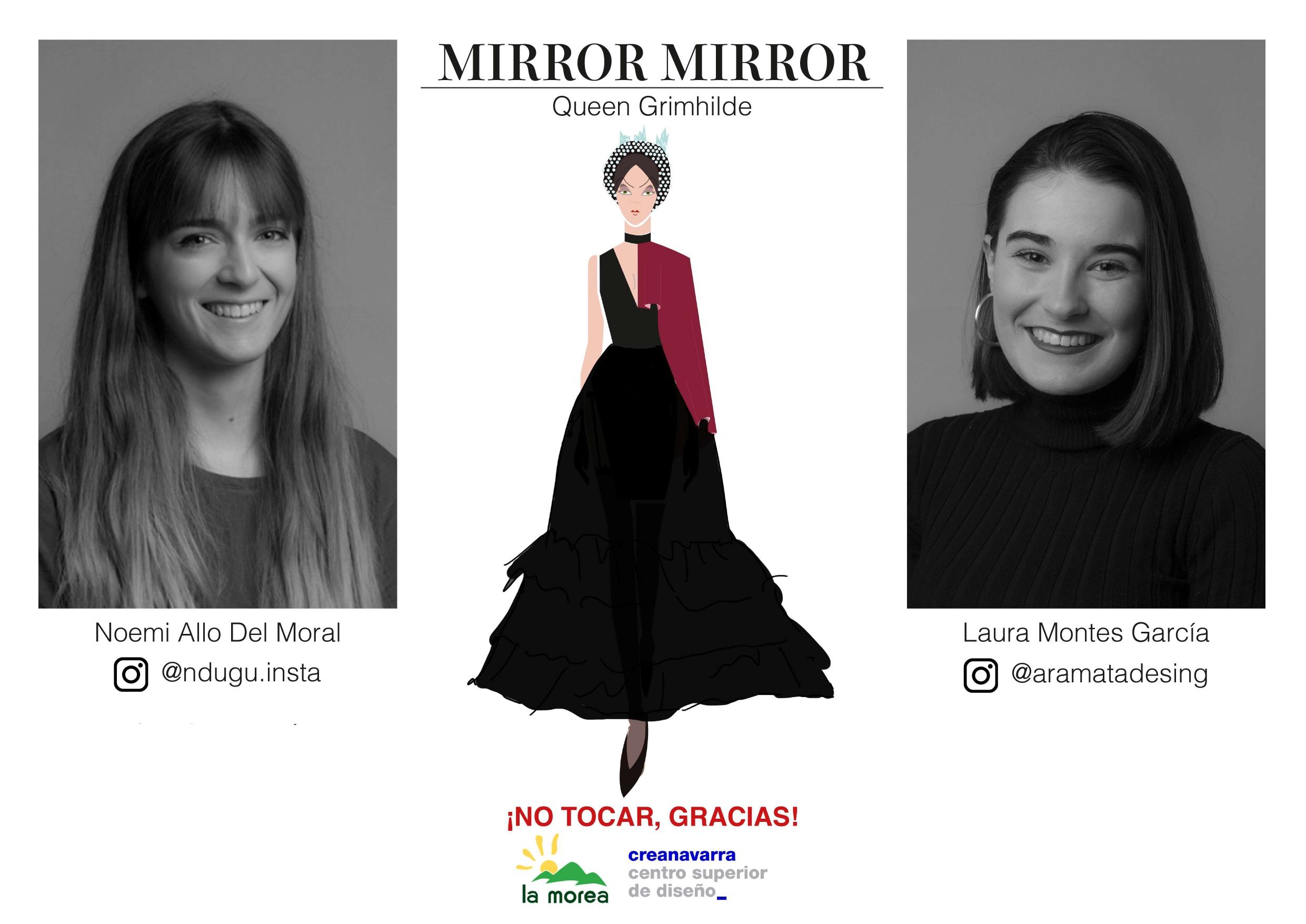 Look de Madastra elaborado por Noemi y Laura Montes alumnas de Creanavarra