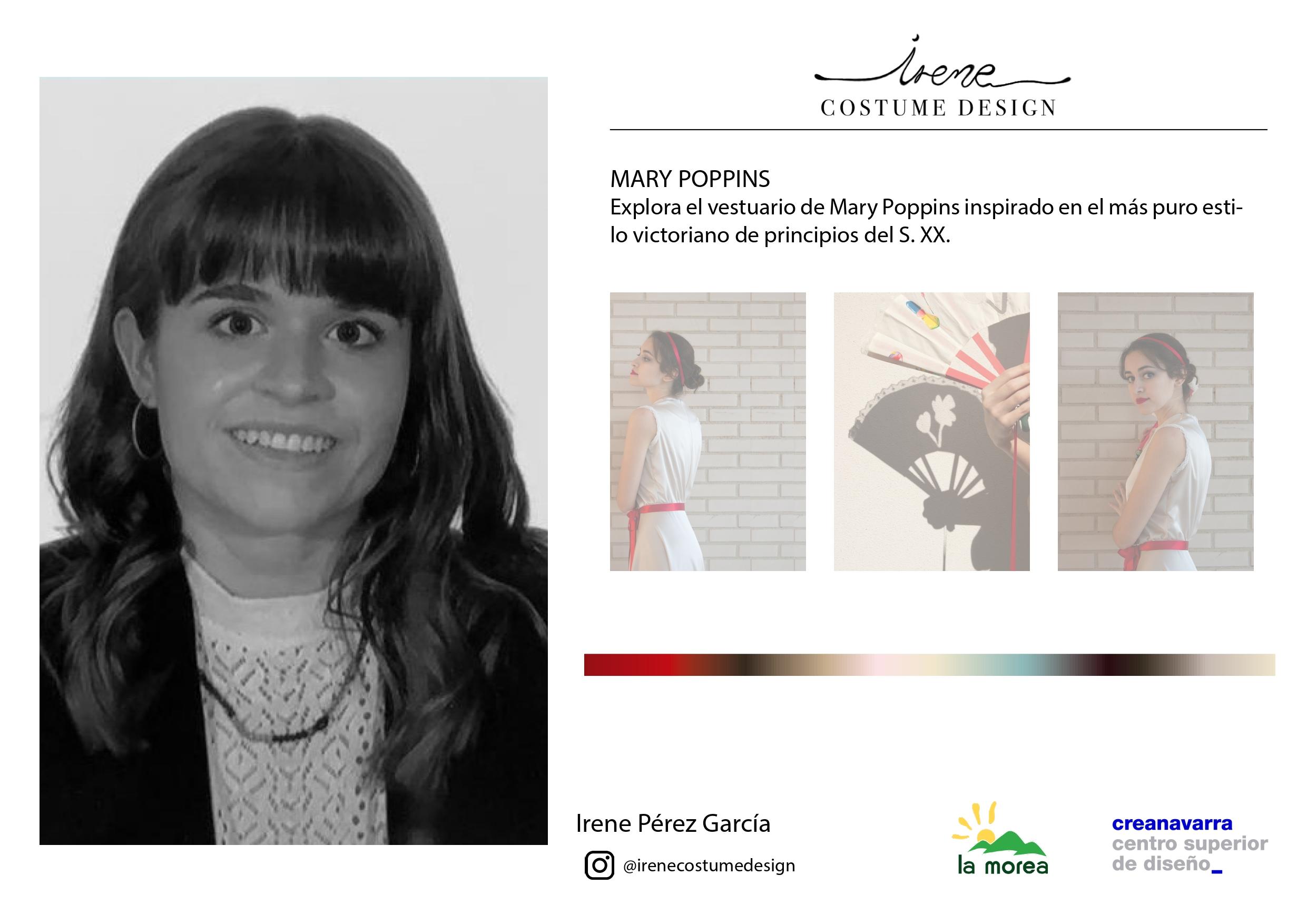 Look de Mary Poppins por Irene alumna de Crenavarra