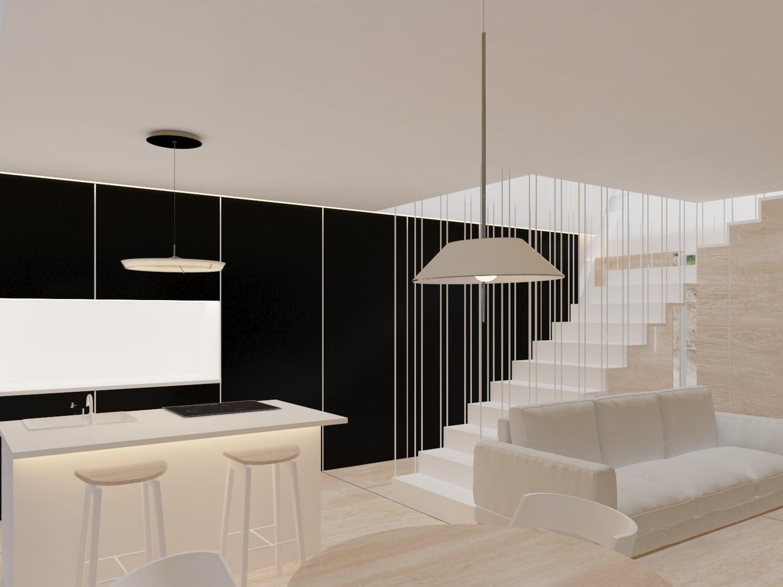 casas refugios pensadas de forma industrializada por alumnado de diseño de interiores