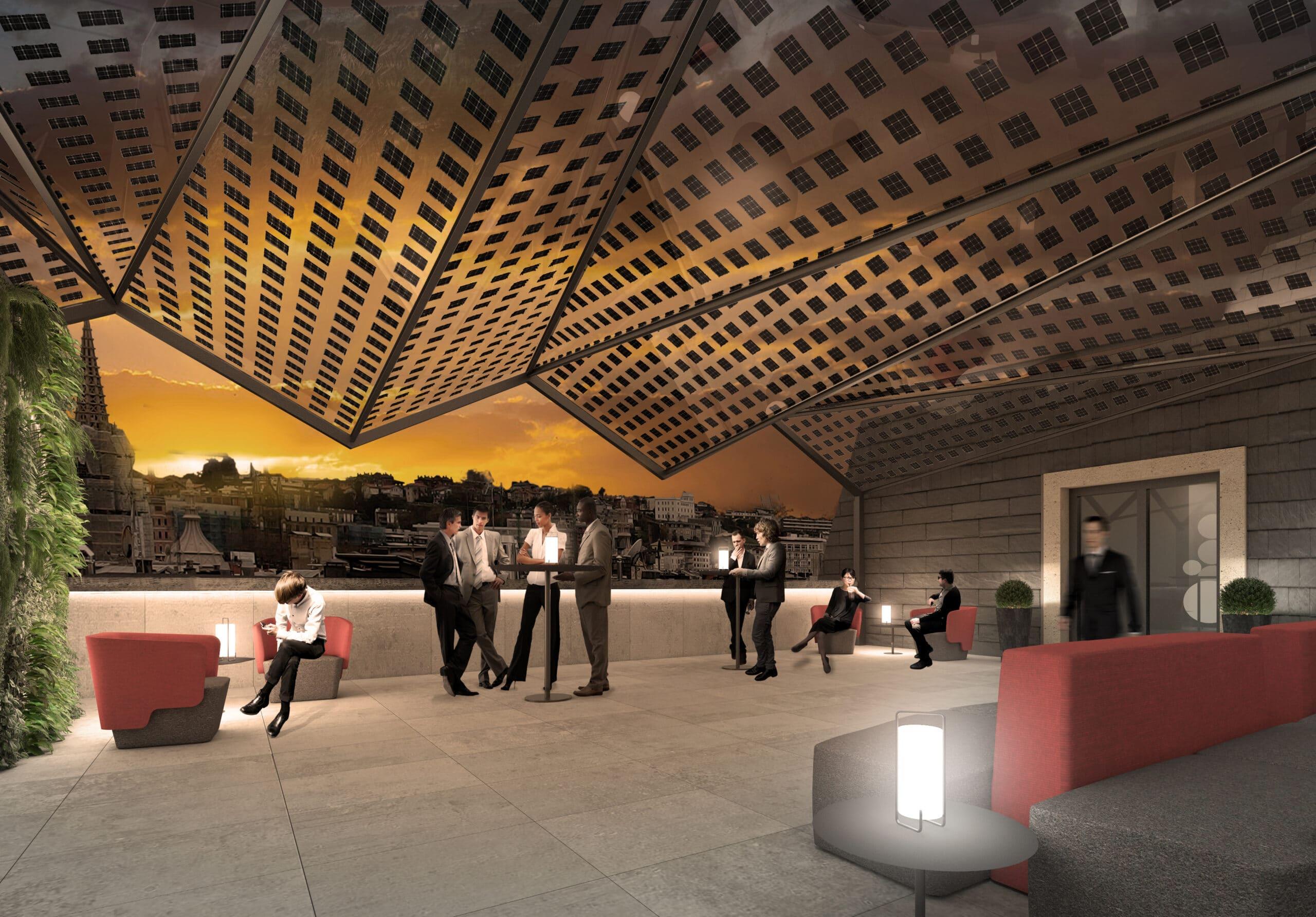 Olaia Pozueta, alumni de Creanavarra y diseñadora en el Estudio 'Barru arkitektura'