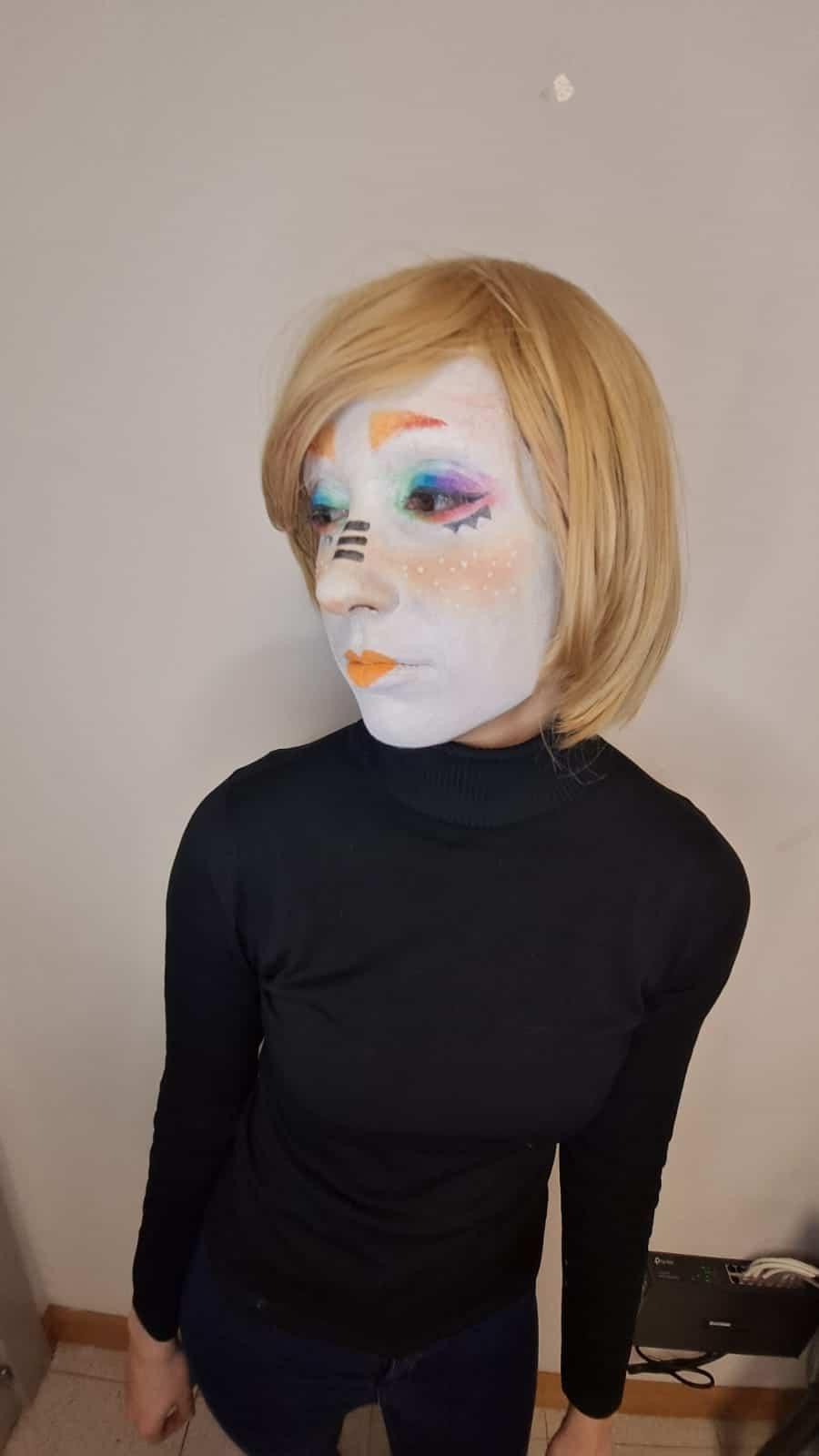 El alumnado de Animación pone en práctica sus destrezas creativas con el maquillaje de personajes