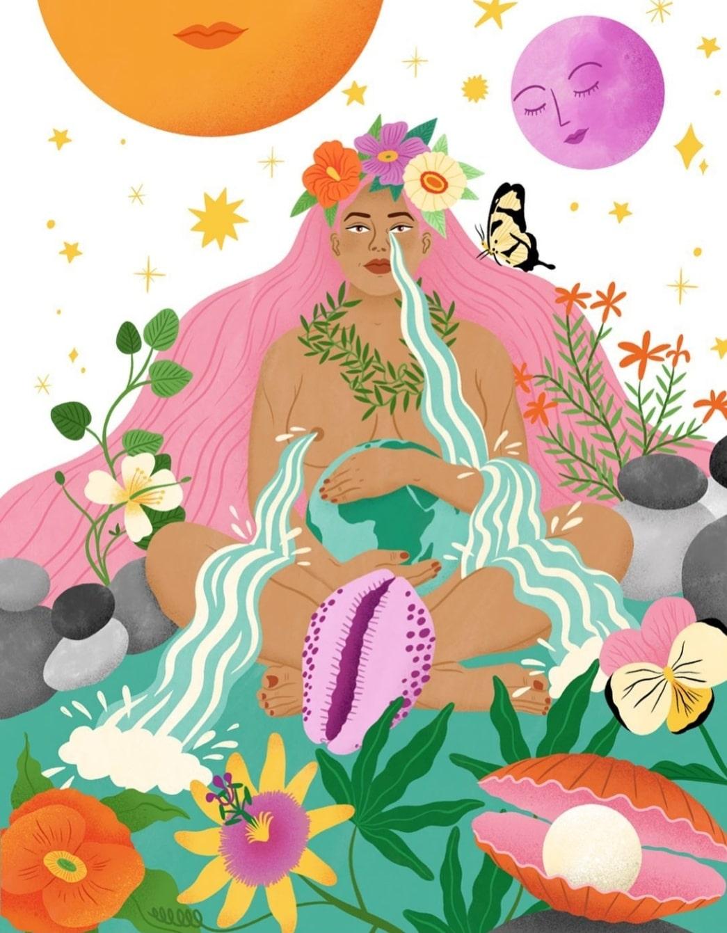 'Mujeres en el arte' a través de la Historia por alumnado de 1º de Moda
